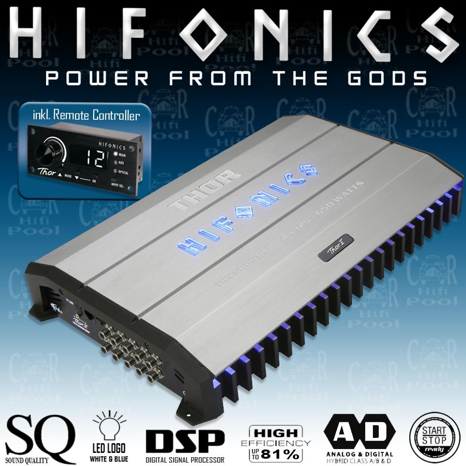 Hifonics 5-Kanal Endstufe Thor TRX-5005DSP