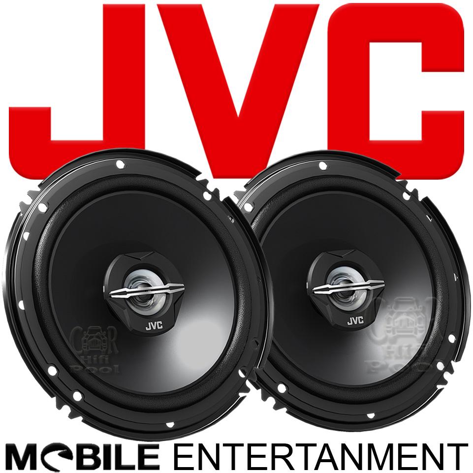Car Fit 16cm Koax Lautsprecher Paar für VW Sharan JVC CS-J 620X