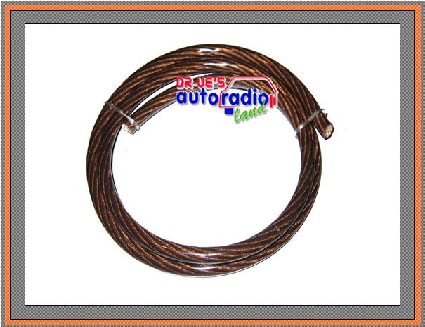 Stromkabel 20mm² 1 Meter braunes Massekabel | eBay