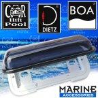 Dietz Boa 80218 Marina Radio spritzwassergeschützte Abdeckung für Boot und Yacht