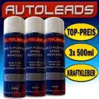 3x Autoleads CS170 500 ml Dosen - Sprühkleber Kleber > Stoff Leder (1,19€/100ml)