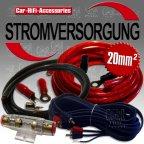 ECO20BA 20 mm² Kabel Kabelset Verstärkeranschlußset