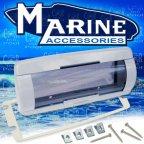 281000-01 Marine 1 Din Radiohalterung Spritzwasserschutz Abdeckung Boot & Yacht