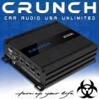 Crunch GTO 2120 - 2 Kanal Class D Kompakt Micro Verstärker 480 Watt Digital