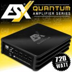 ESX QUANTUM Q TWO - 2 Kanal Class D Kompakt Micro Verstärker 750 Watt Digital