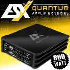 ESX QUANTUM Q FOUR - 4 Kanal Class D Kompakt Micro Verstärker 800 Watt Digital