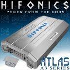 Hifonics Atlas AXI 5005 - 5 Kanal Analog / Digital Hybrid Verstärker Class A/B und D