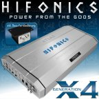 Hifonics Atlas X4 High End Class A/B 1 Kanal 1750 Watt RMS Mono Verstärker