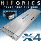 Hifonics Colossus X4 High End Class A/B 2 Kanal Analog Verstärker Endstufe 3000 W.