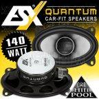 """ESX Quantum QE-462 10x 15cm 2 Wege Koax Oval Lautsprecher ( 4x6"""") QE462"""