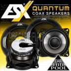 ESX Quantum QE 42 2 Wege 10cm Koax Lautsprecher Paar QE42