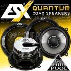 ESX Quantum QE 52 2 Wege 13cm Koax Lautsprecher Paar QE52