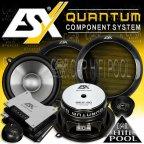 ESX Quantum QE 5.2C 2 Wege 13cm Kompo Lautsprecher Set QE5.2C
