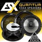 ESX Quantum QE 62 2 Wege 16,5cm Koax Lautsprecher Paar QE62