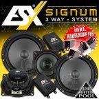ESX Signum  - 3 Wege Lautsprecher Set passend für VW GOLF III