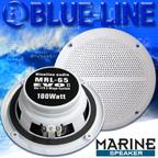 BLUELINE AUDIO MARINE - 16,5cm Feuchtraum Lautsprecher für Küche Badezimmer Schwimmbad Boot Outdoor