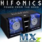 Hifonics MXZ 12 Dual Bandpass 30cm Twin Bass Gehäusesubwoofer 4000 W.