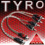 ACV TYRO 30.4970-102 2 Stück Y Adapter 1 Buchse 2 Stecker Cinchkabel