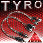 ACV TYRO 30.4970-201 2 Stück Y Adapter 2 Buchse 1 Stecker Cinchkabel