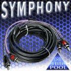 ACV SYMPHONY 30.4980-300 3 Meter Stereo Cinchkabel Cinch Kabel