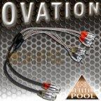 ACV OVATION 30.4990-102 2 Stück Y Adapter 1 Buchse 2 Stecker Cinchkabel