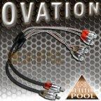 ACV OVATION 30.4990-201 2 Stück Y Adapter 2 Buchse 1 Stecker Cinchkabel