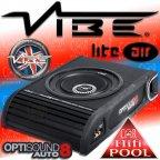 VIBE LiteAir Optisound Auto 8A - aktiv 20cm 900 Watt Bassbox Subwoofer Woofer