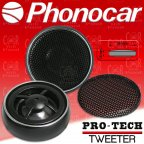 Phonocar Pro-tech 2/419 - Car Hifi Lautsprecher Tweeter Hochtöner Paar