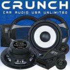 Crunch Speaker GTi 6.2c 2 Wege 16,5cm Kompo Lautsprecher Set inkl. Gitter