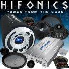 Hifonics ZXi 6404 - BX 300 - TS 6.2c - Car Hifi Sound Anlage Komplett Set