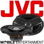 JVC CS-V6948 - 4 Wege 15 x 23cm ovale Lautsprecher Paar - drvn Serie