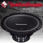 Rockford Fosgate Prime R1 S Serie R1S410 25cm Subwoofer 300 Watt Bass Woofer