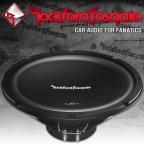 Rockford Fosgate Prime R1 S Serie R1S412 30cm Subwoofer 300 Watt Bass Woofer