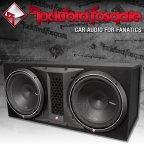 Rockford Fosgate Punch P2 Serie P2-2X12 Dual Gehäusesubwoofer 2x 30cm Bass Subwoofer