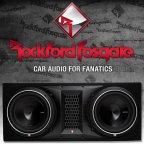 Rockford Fosgate Punch P3 Serie P3-2X10 Dual Gehäusesubwoofer 2x 25cm Bass Subwoofer
