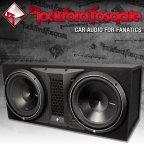 Rockford Fosgate Punch P3 Serie P3-2X12 Dual Gehäusesubwoofer 2x 30cm Bass Subwoofer