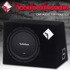 Rockford Fosgate Prime R1 Serie R1L-1X10 1 Ohm Gehäusesubwoofer 25cm Bass Subwoofer