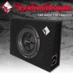 Rockford Fosgate Prime R2 S Serie R2S-1X10 flach Gehäusesubwoofer 25cm Bass Subwoofer