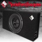 Rockford Fosgate Prime R2 S Serie R2S-1X12 flach Gehäusesubwoofer 30cm Bass Subwoofer