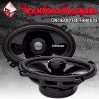 """Rockford Fosgate Power T1 Serie T1462 10x15cm (4x6"""") oval Koax Lautsprecher Paar"""