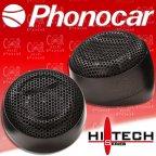 Phonocar Hi-tech 2/425 - Car Hifi Lautsprecher Tweeter Hochtöner Paar