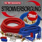 USF20132 - 20mm² Untersitz / Fußraum Car Kabelsatz / Verstärker Montage