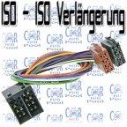 ACV 1230-42 ISO Strom LS Autoradio Kabel Verlängerung 40cm