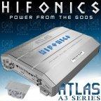 Hifonics Atlas AXI 3003 - 3 Kanal Analog Digital Hybrid Verstärker Class A/B D