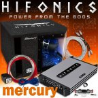Hifonics Mercury MBP1000.4 Basspack - Auto Car Hifi Komplett Anlage Set Kfz 1000 W.