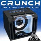 Crunch GTS350 Bandpass Woofer 25cm Gehäuse Subwoofer 700 Watt