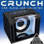 Crunch GTS450 Bandpass Woofer 30cm Gehäuse Subwoofer 800 Watt