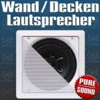 10Stück - SS622 2 Wege koax Lautsprecher Einbaulautsprecher für Wand und Decke