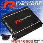 Renegade REN 1000S Mk3 - 850 Watt 1 Kanal Mono Verstärker REN 1000S MkIII