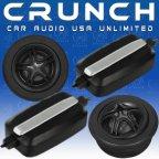 Grunch GTi 6.2T - Car-Hifi Tweeter Hochtöner mit Kabel - Frequenzweichen